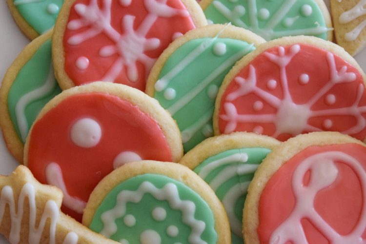 Holiday Sugar Cookies
