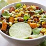Black Bean Sweet Potato Quinoa Bowl