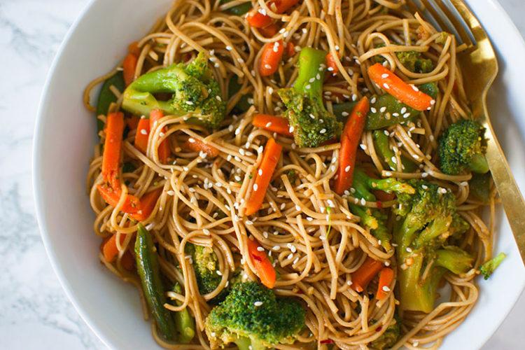 Spicy Chili Garlic Noodles
