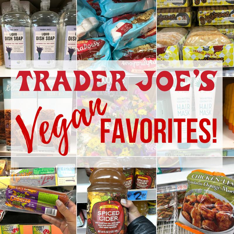 Trader Joe's Vegan Favorites