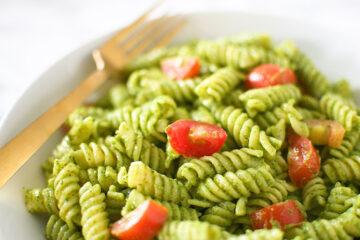 Spinach Pesto Pasta