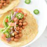 Vegan Chickpea Tacos