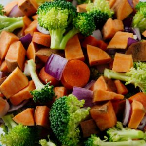 Roasted Vegetables with Raisins