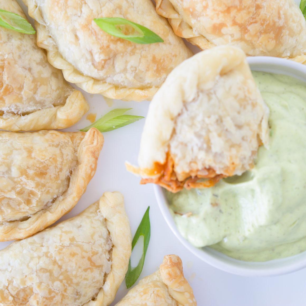 BBQ Jackfruit Empanadas