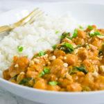 Vegan Chickpea Peanut Stew