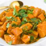 Sweet Potato Spinach Thai Curry