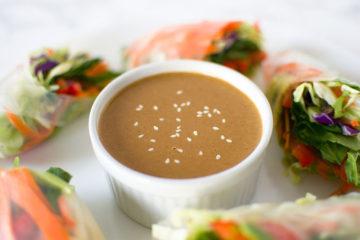 Peanut Ginger Sauce