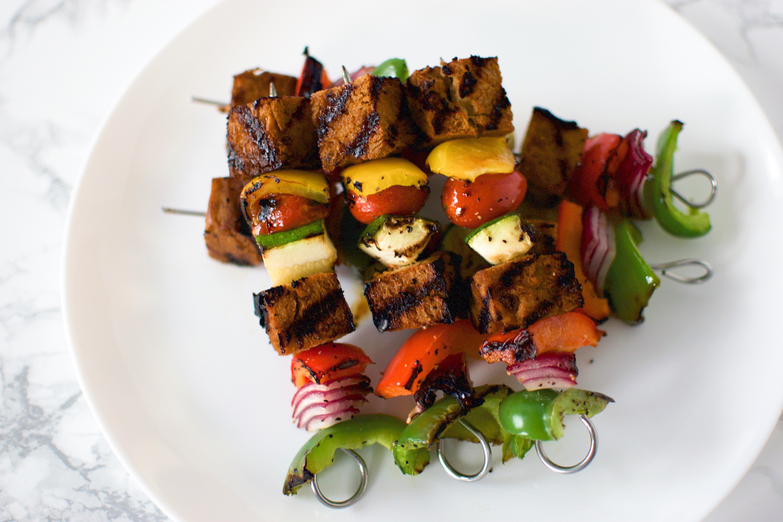 Tofu Veggie Skewers
