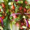 Raw Walnut Taco Meat