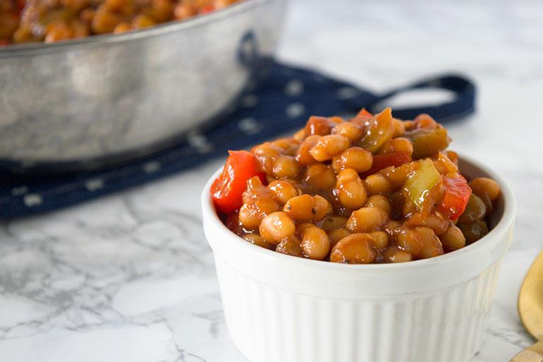 Easy Vegan BBQ Baked Beans