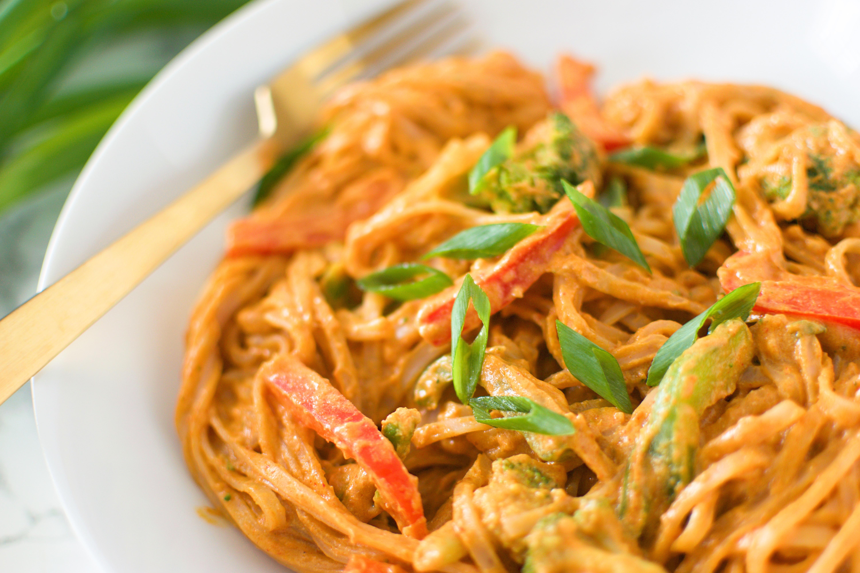 Thai Red Curry Pasta