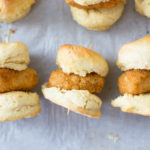Mini Vegan Chicken Biscuits