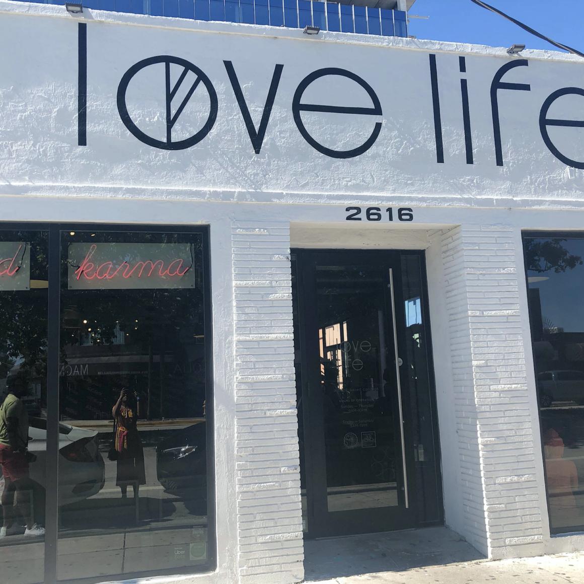Love Life Cafe Outside