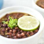 Easy Seasoned Black Beans