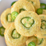 Vegan Jalapeno Cornbread Muffins