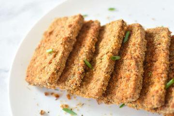 Crispy Baked Breaded Tofu
