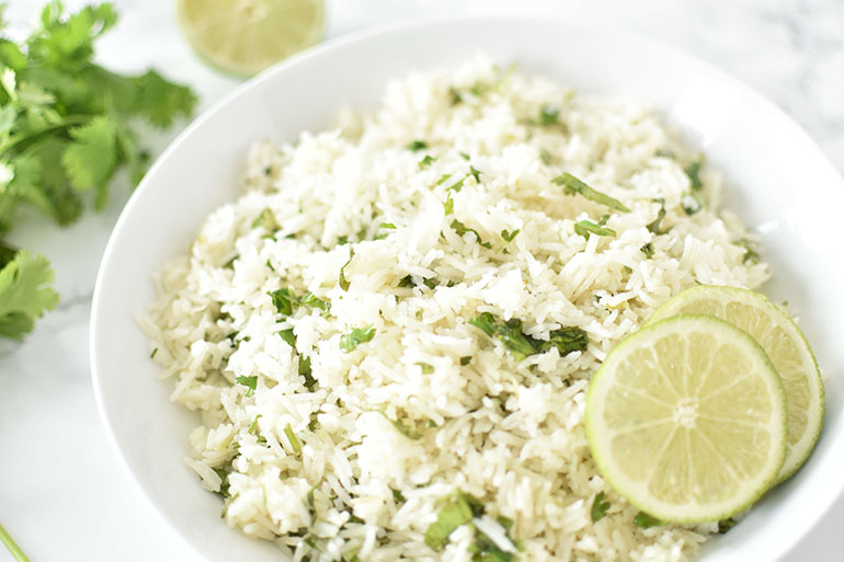 Easy Cilantro Lime Rice