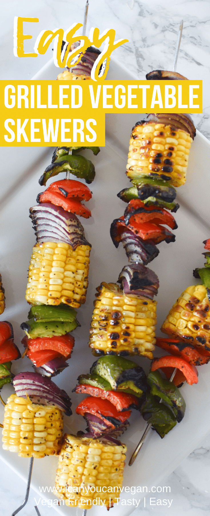 Grilled Vegetable Skewers Pinterest