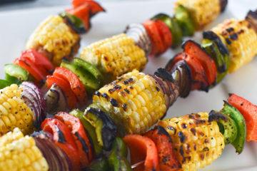 Easy Grilled Vegetable Skewers