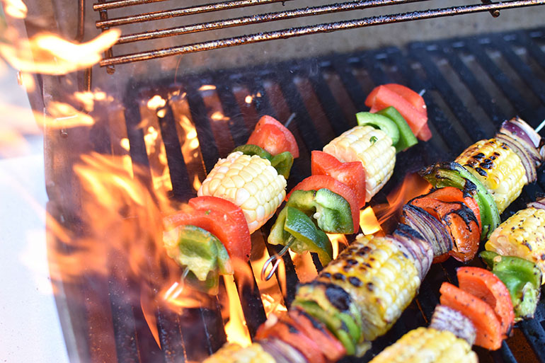 Easy Grilled Vegetable Skewers