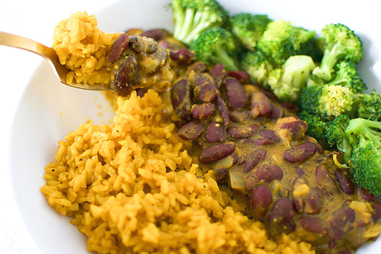 Curried Red Beans