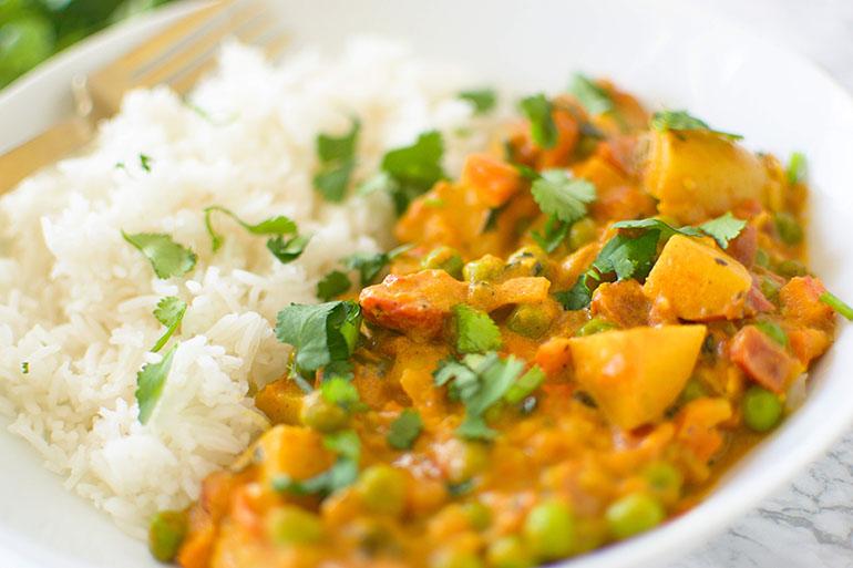 Easy Potato Curry