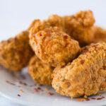 Vegan Spicy Chicken Fried Tofu