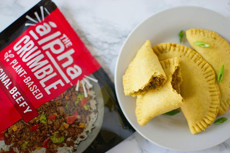 Vegan Jamaican Beef Patties