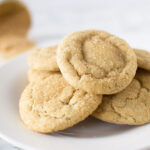 Vegan brown sugar cookies