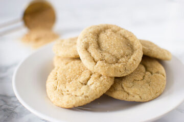 Vegan brown sugar cookies