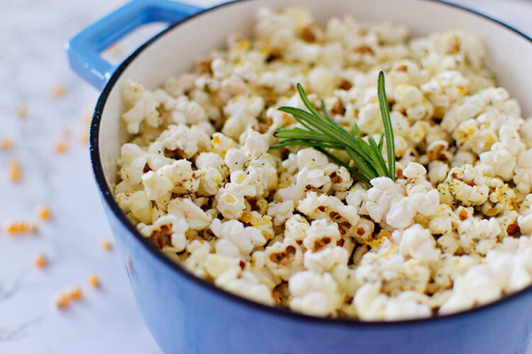 Parmesan+Herb Popcorn
